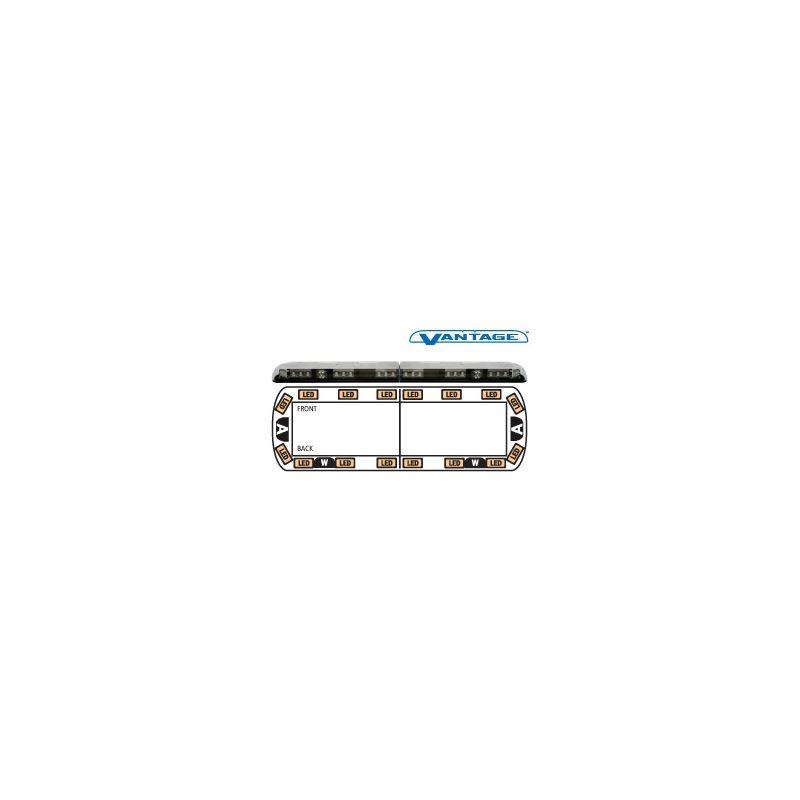 """12-00004-E 48"""" Amber Vantage LED Lightbar"""