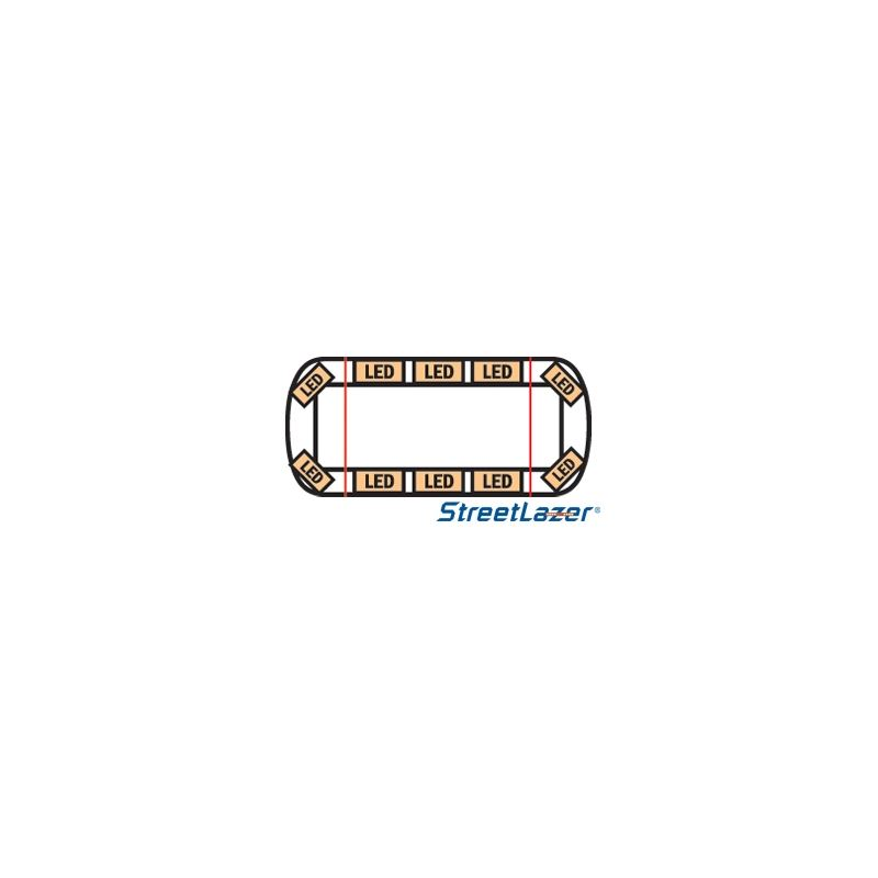 "15-00019-E 23"" TIR Amber Streetlazer LED Mini"