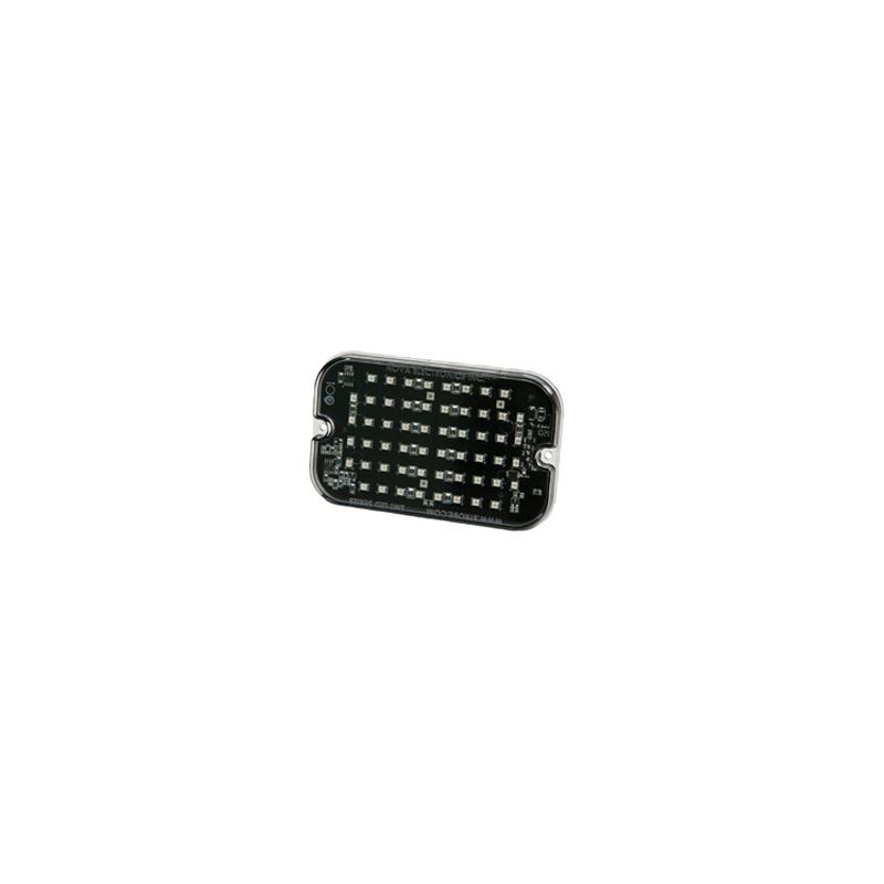 3910A Amber Rounded Rectangle Surface Mount Direct