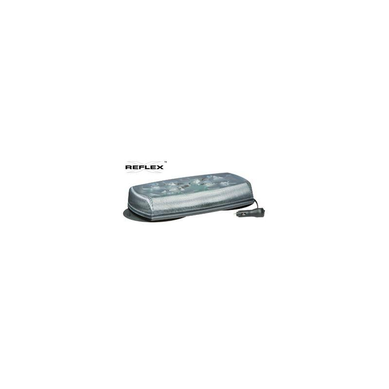 "5580CA-VM Vacuum Mount 15"" Clear/Amber Reflex"