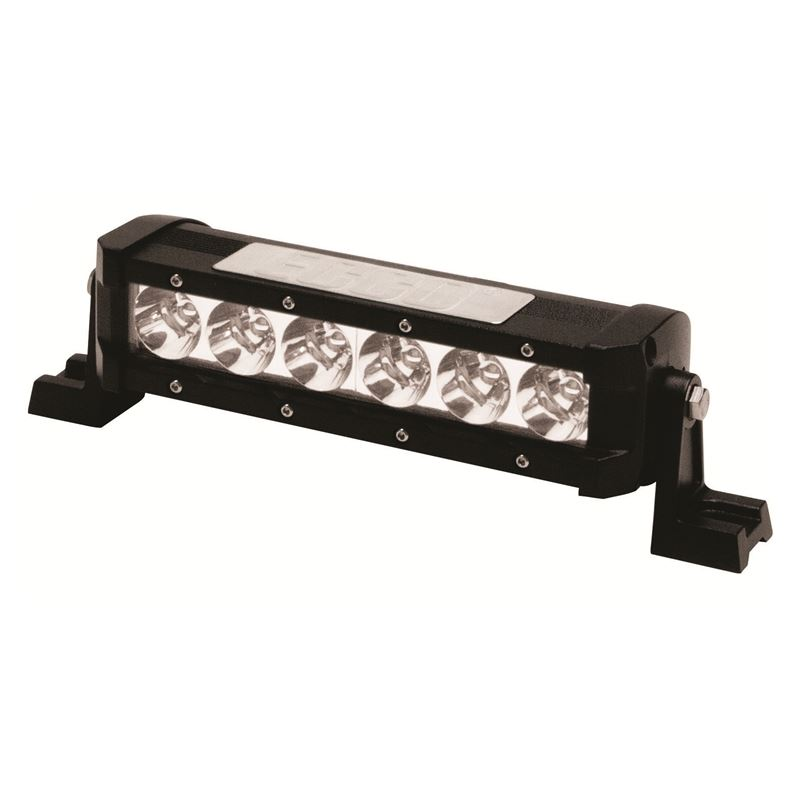 "8"" Flood Beam 6-LED Single Row 5W Utility Bar"