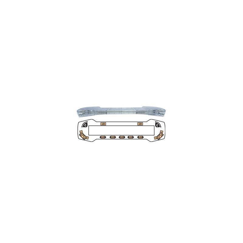 """10-00051-E 47"""" Amber Streetlazer LED Lightbar"""